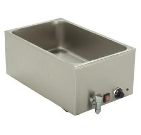 Vattenbad med tappkran GN 1/1-150