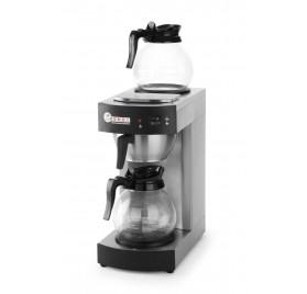 Kaffebryggare med 2 värmeplattor
