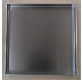 Rostfri spillbricka för 50x50 diskkorgar