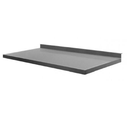 Rostfri bänkskiva - svetsat - 60 cm djup